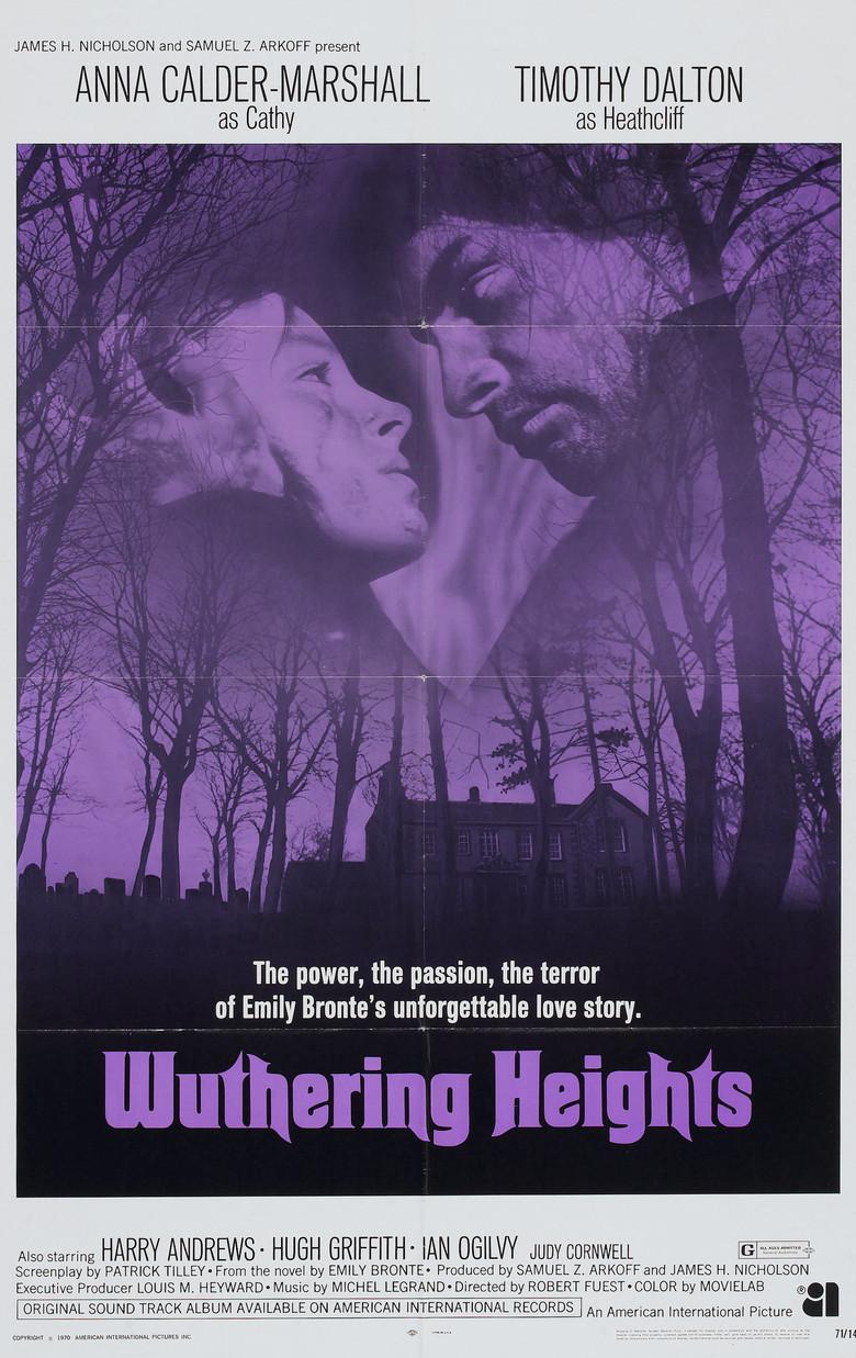 Uğultulu Tepeler - Rüzgarlı Tepe - Wuthering Heights (1970) - barbarus