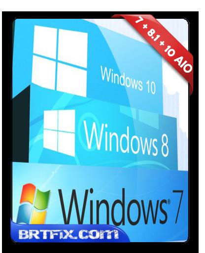Windows 7 - 8.1 - 10 - AIO - Aralık - 2015 - Türkçe İndir