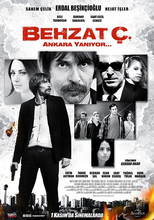 Behzat Ç. Ankara Yaniyor (2013) DVDRip 480p WEB-DL 720p Download İndir Yükle