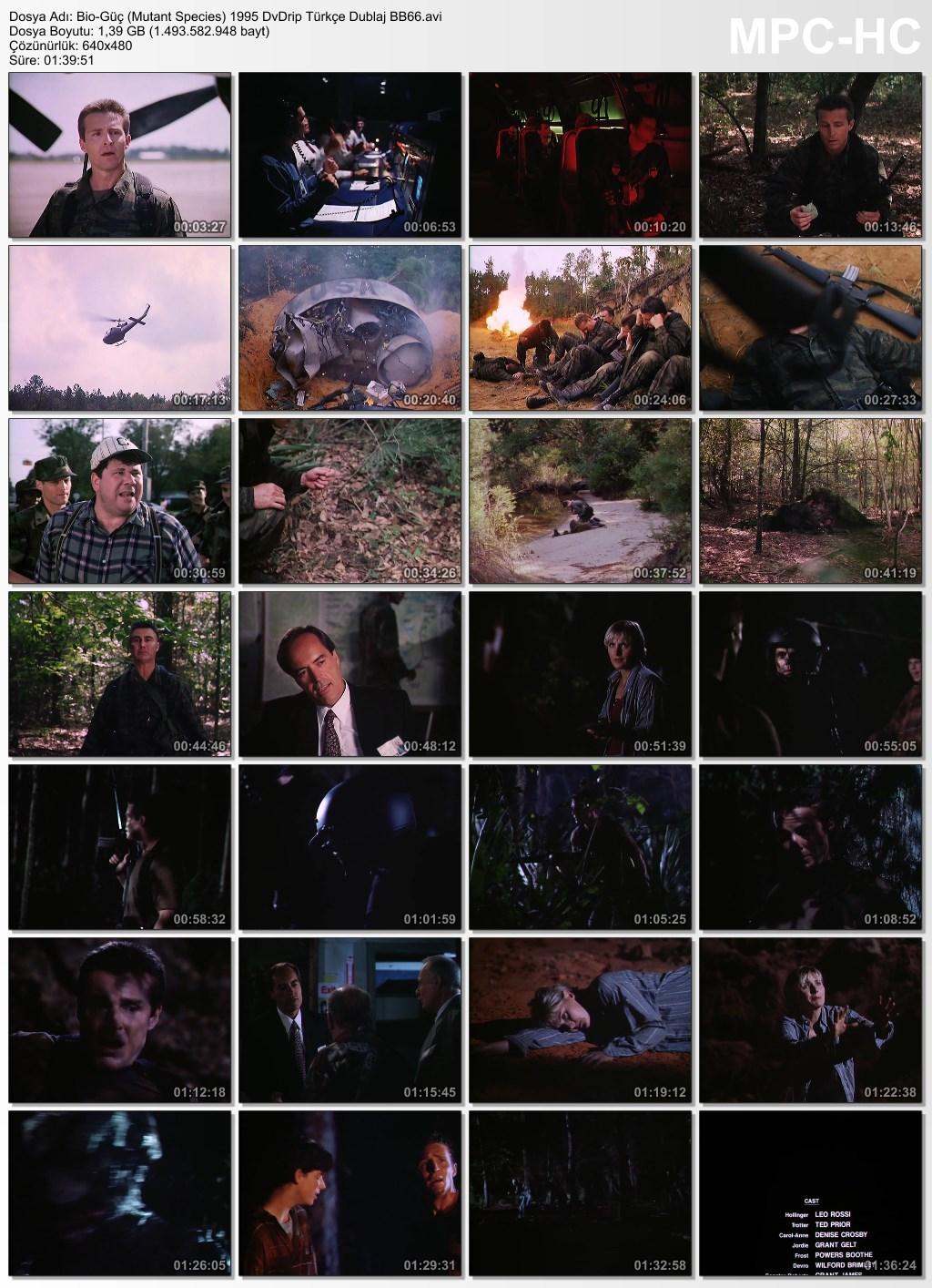 Bio-Güç (Mutant Species) 1995 DvDrip Türkçe Dublaj BB66 - barbarus