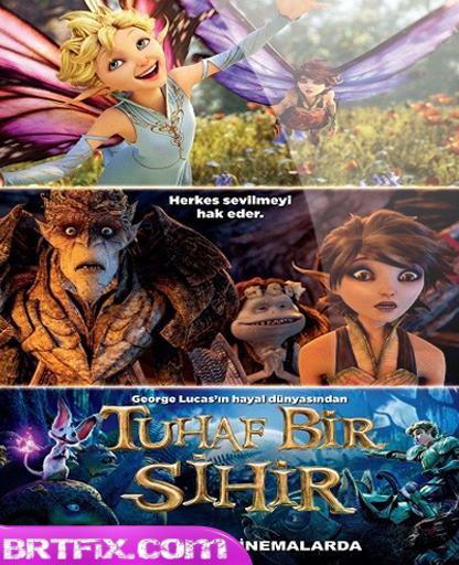 Tuhaf Bir Sihir - Strange Magic 2015 BRRip 720p 1080p Türkçe Dublaj Download izle Yükle İndir