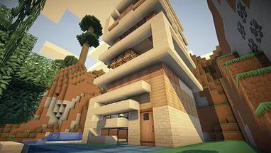Minecraft modern ev modelleri (29)