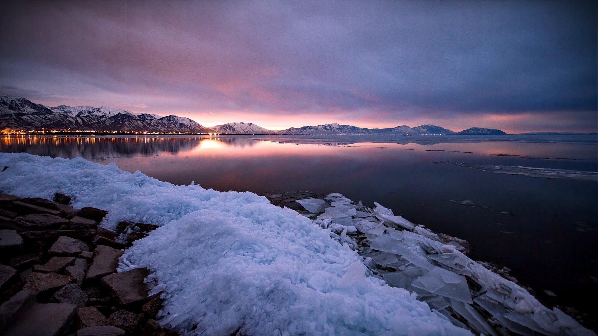 Utah Lake Sunris