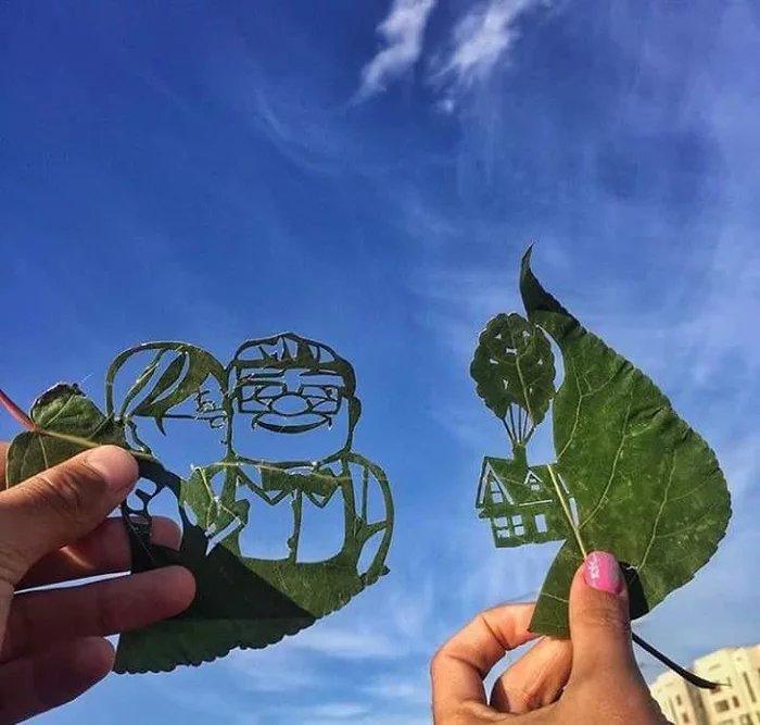 Leaf-art