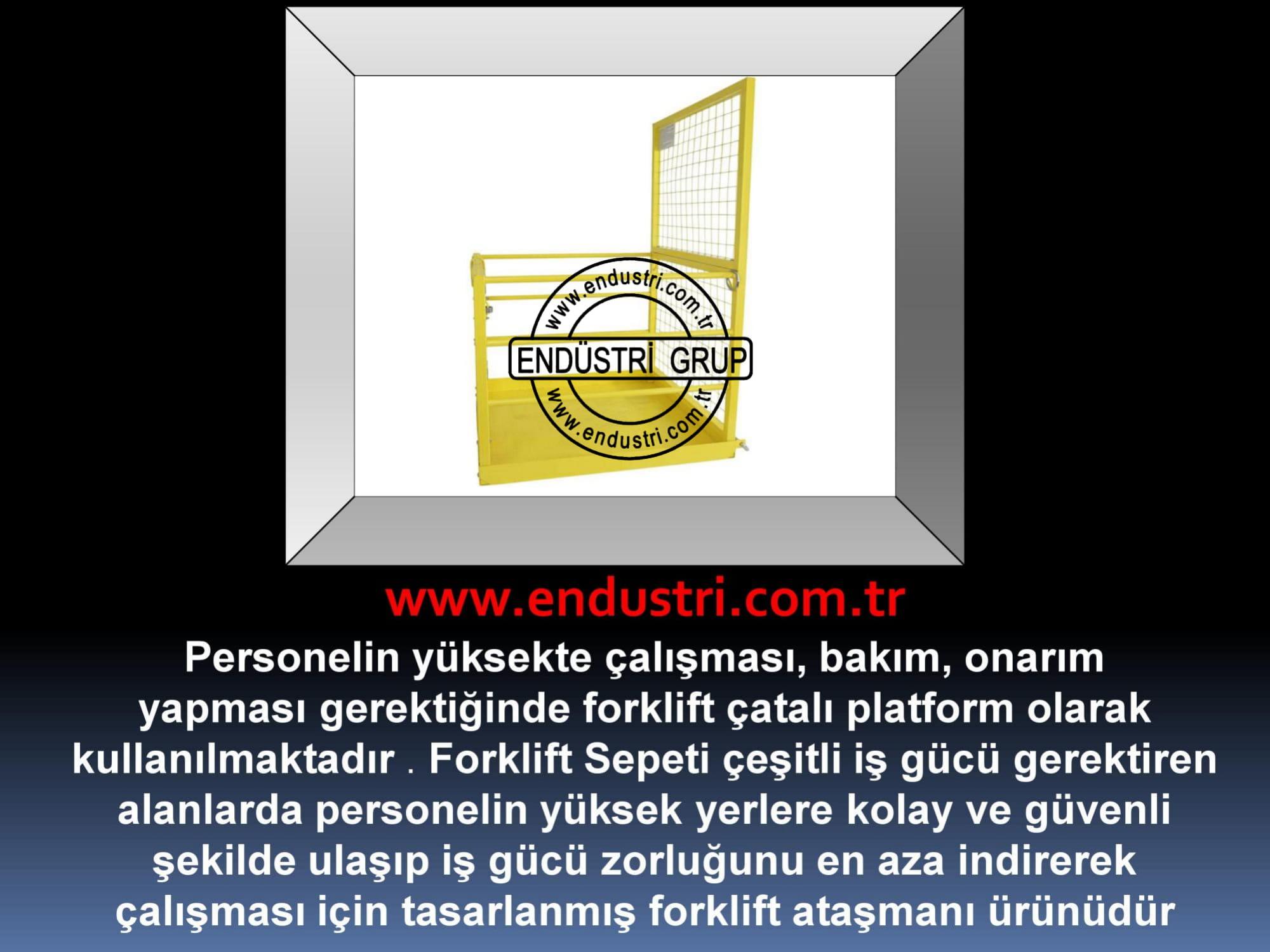 forklift personel tasima sepeti kaldirma ilkyardim bakim tamir sepetleri personel platformu imalati fiyati (15)