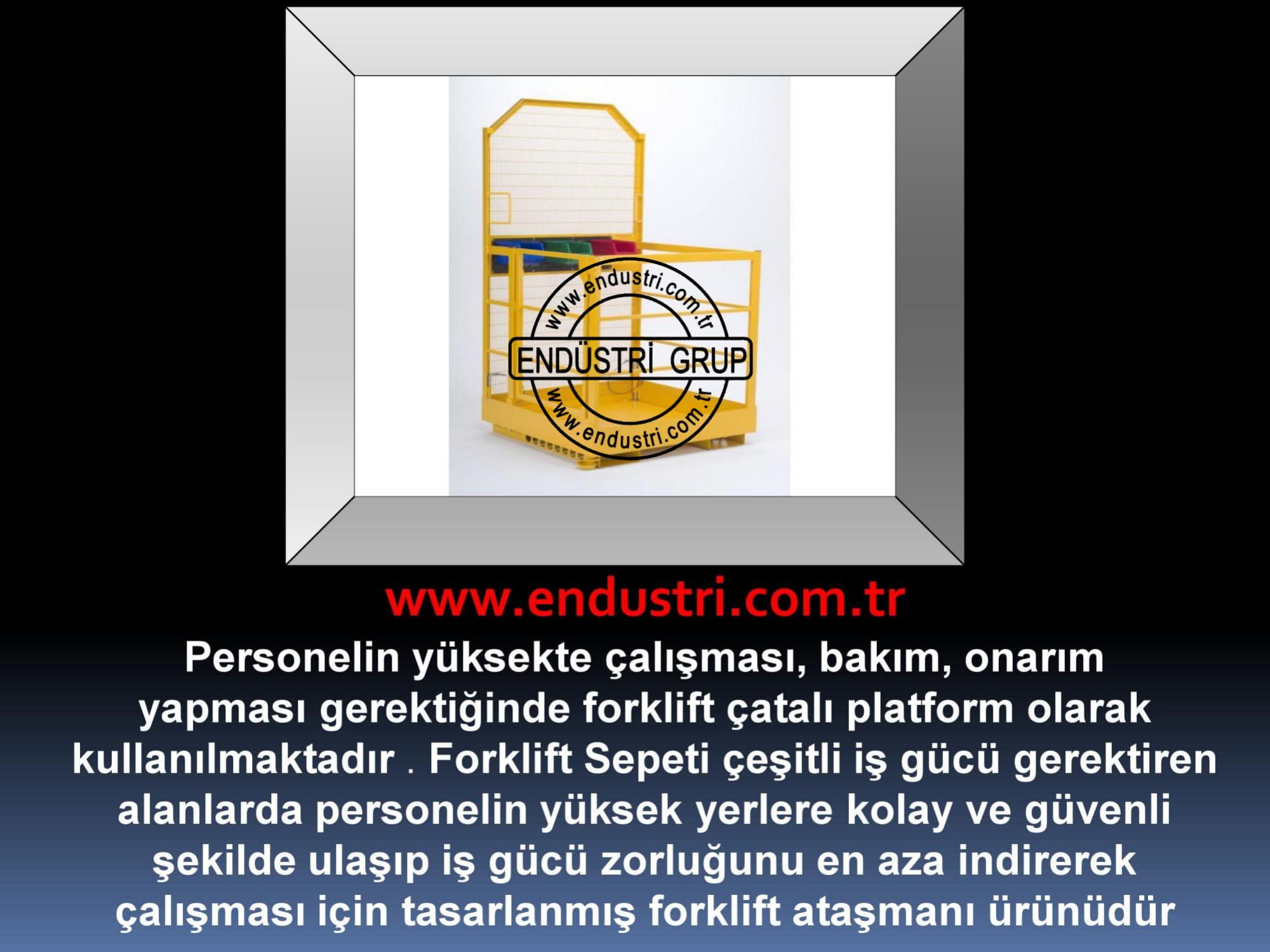 forklift personel tasima sepeti kaldirma ilkyardim bakim tamir sepetleri personel platformu imalati fiyati (12)