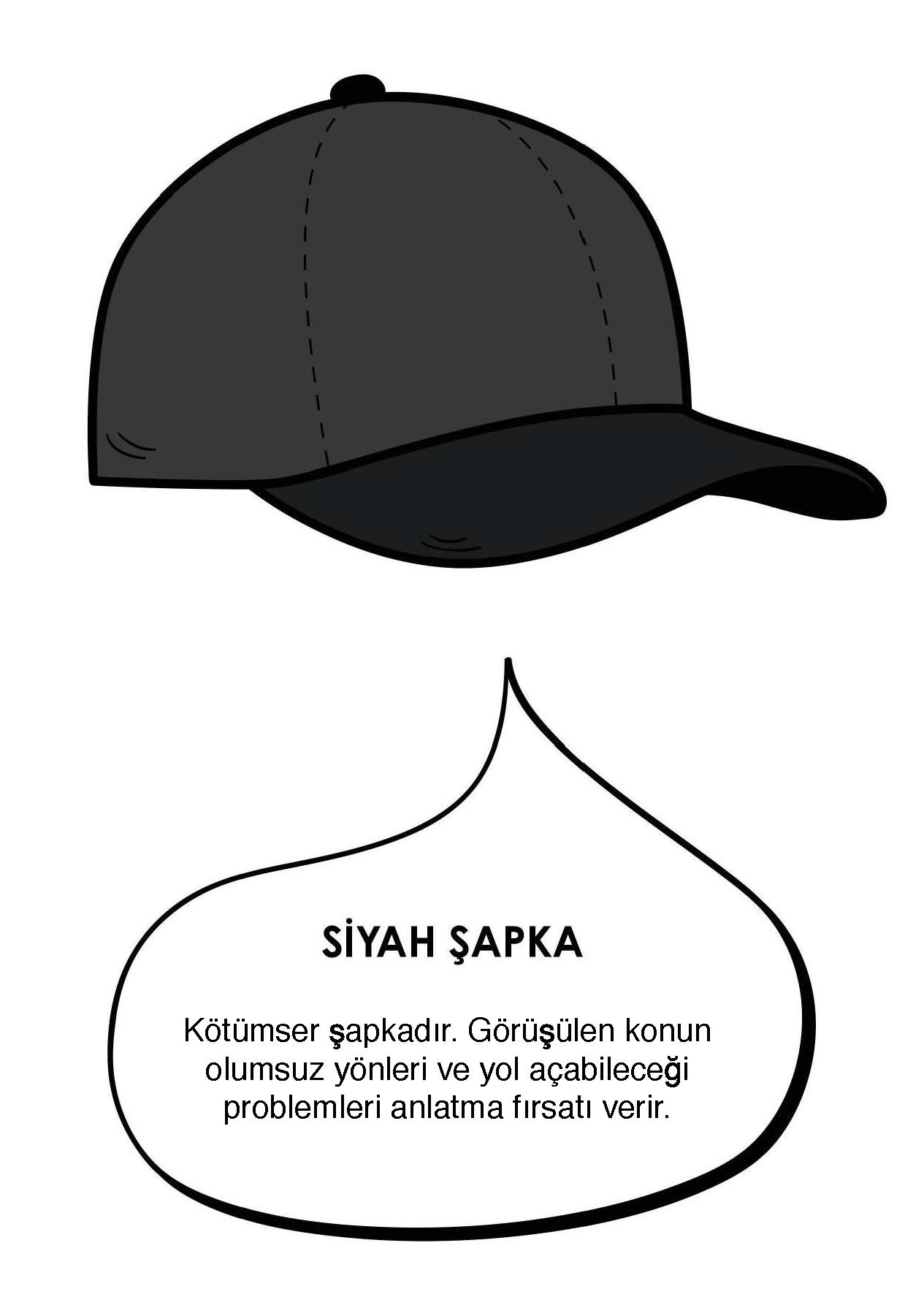 3)Siyah Şapka : KÖTÜMSERLİK