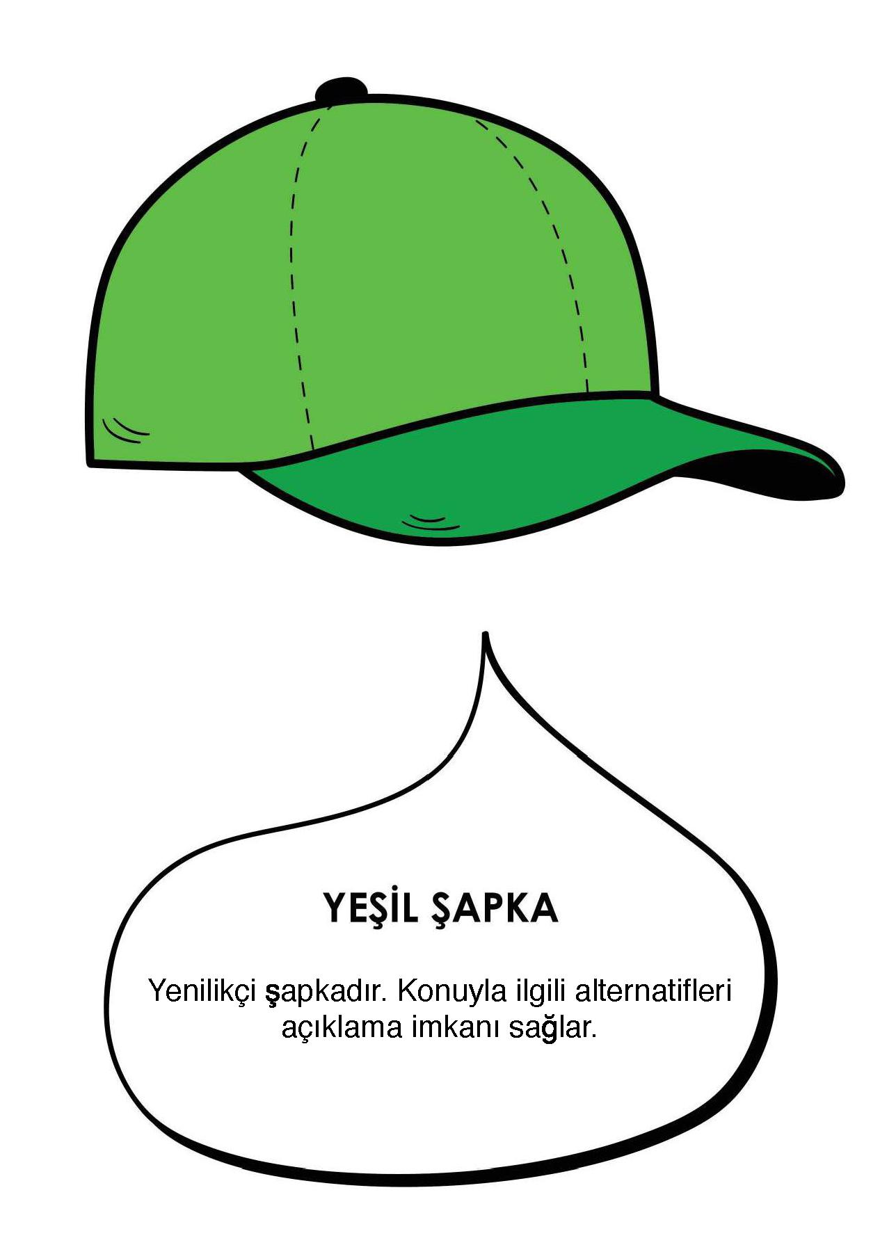 5)Yeşil Şapka : YENİLİKÇİLİK