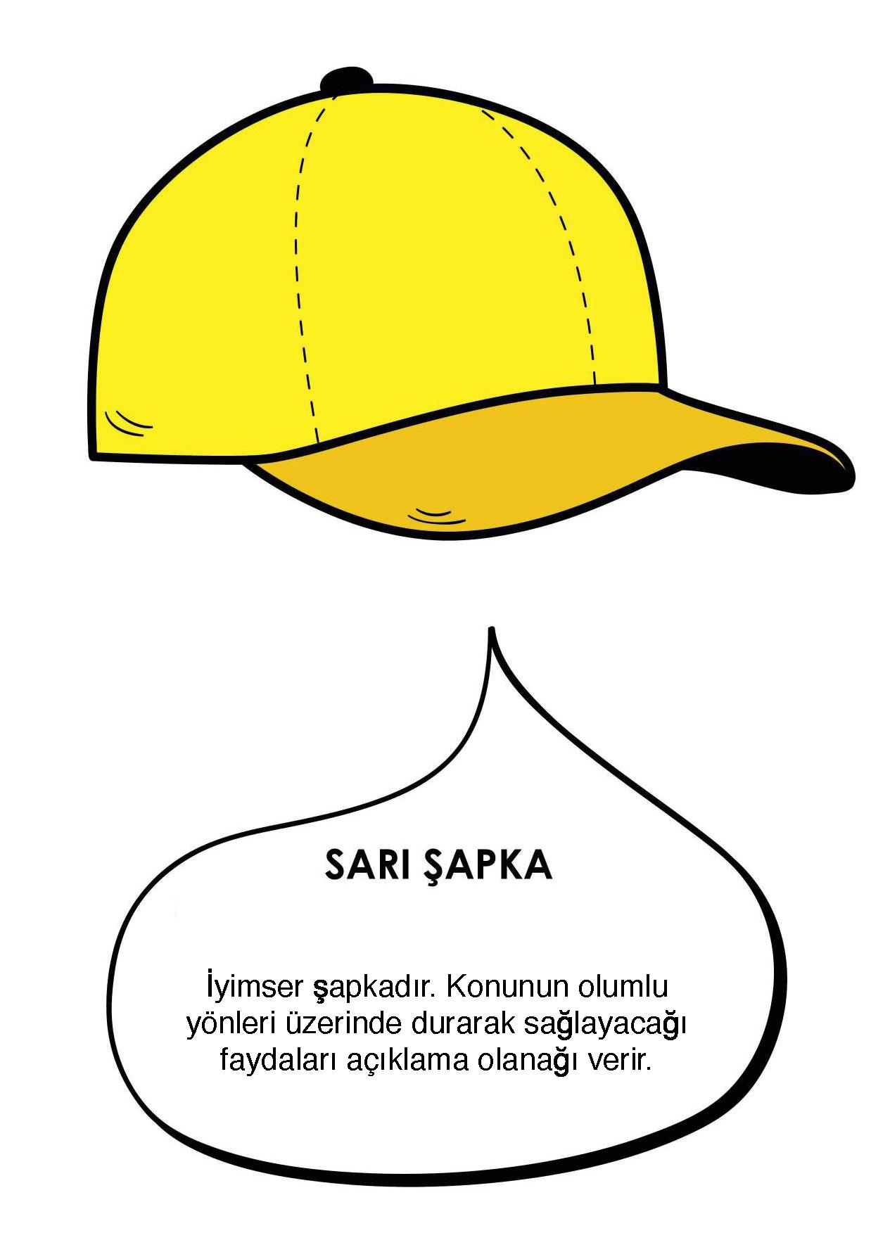 4)Sarı Şapka : İYİMSERLİK