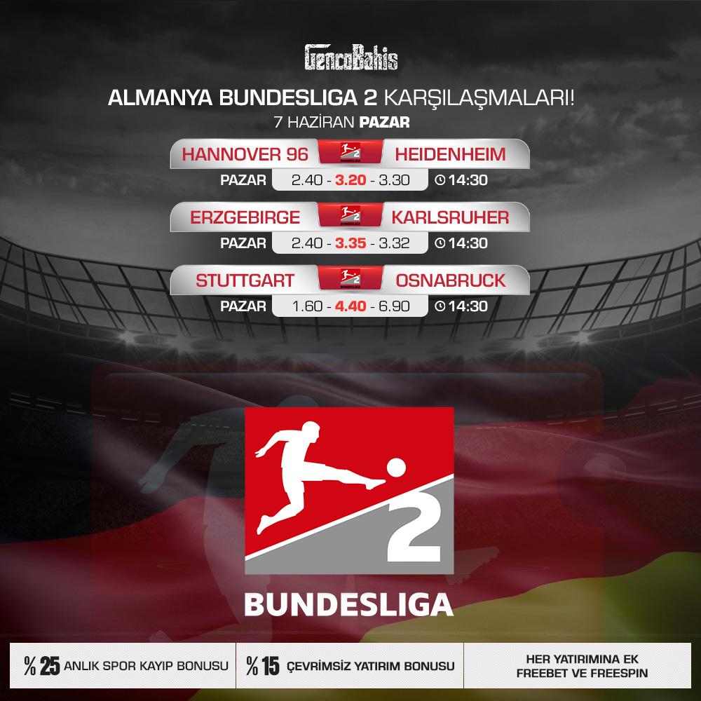 07.06.2020 Bundesliga 2