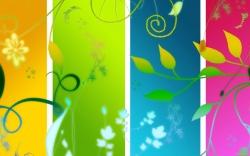 summer colours wallpaper