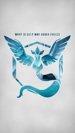 Pokemon Go team mystic cold blue Iphone hd wallpaper