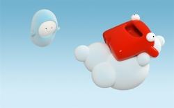 cloud resting