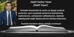 Habil Yashar Yazar Youtube