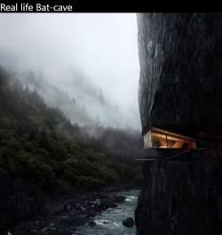 Real life Bat-cave