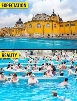 Budapeşte'deki Szechenyi Termal Banyosu