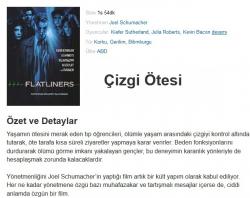 Çizgi Ötesi (Flatliners) 1990 Bluray 720p.x264 Double Dual (Mavi Logolu Star) Türkce Dublaj BB66 (