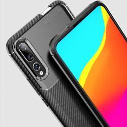 Y9 Prime 2019 Negro Silikon (4)